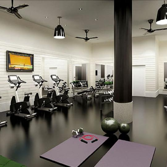 540 West 28th Street Fitness Center - NYC Condos for Sale