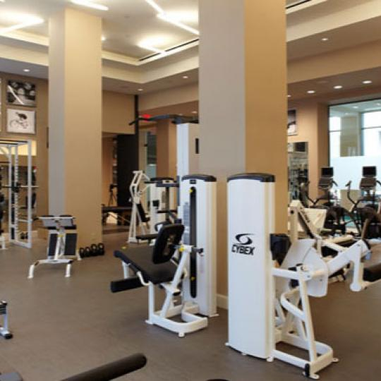 The Rushmore Fitness Center - 80 Riverside Boulevard Condos for Sale