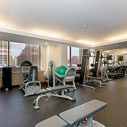350 East 82nd Street Fitness Center - NYC Condos for Sale
