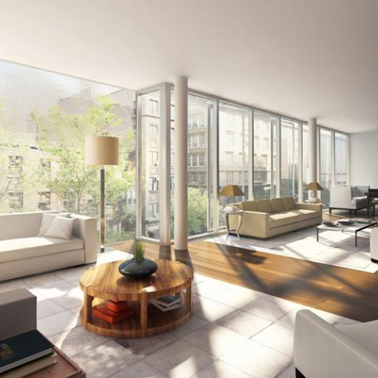 57 Irving Place Great Room - Manhattan New Condos