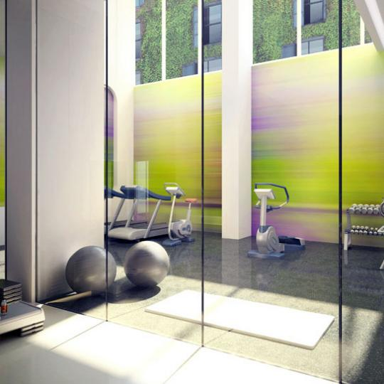 5 Franklin Place Fitness Center – NYC Condos for Sale