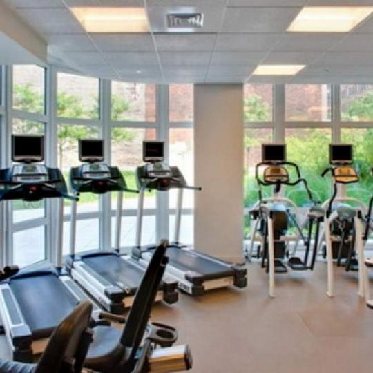 Element Condominium New Construction Building Fitness Center – NYC Condos