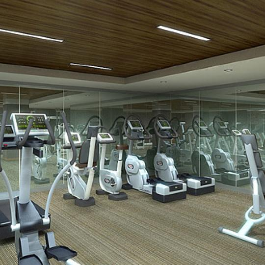 400 Fifth Avenue NYC Condos – Fitness Center at The Setai Fifth Avenue