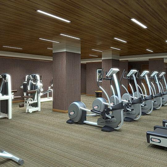 400 Fifth Avenue Fitness Center – Midtown West NYC Condominiums