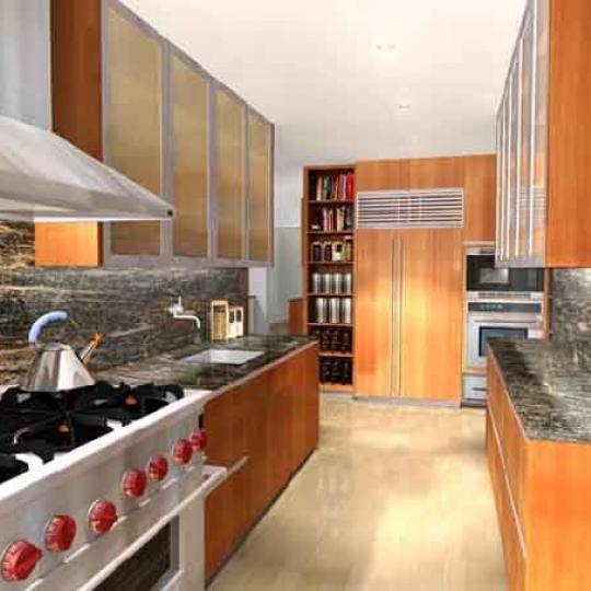 1200 Fifth Avenue Condominium Building Kitchen - NYC Condos