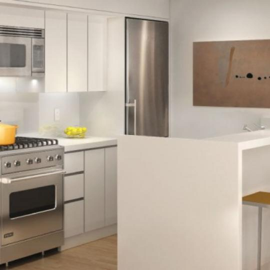 14 West 14th Street Kitchen - NYC Condos for Sale