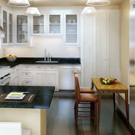 180 East 93rd Street Kitchen - Condominiums for Sale NYC