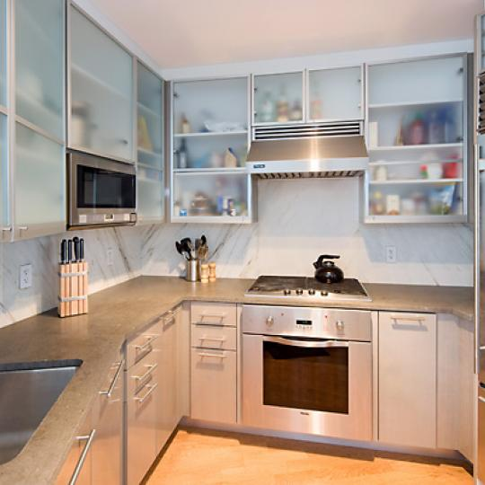 200 Chambers Street Condominiums - Kitchen