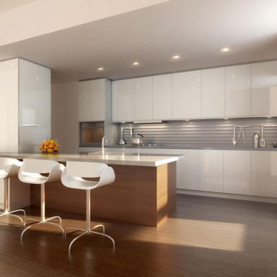 290 Mulberry Street New Construction Building Kitchen – NYC Condos