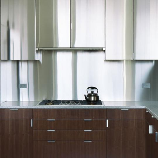 350 West Broadway Condominiums – Kitchen Area