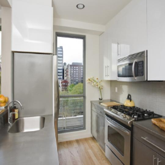 38 Delancey Street New Construction Building Kitchen – NYC Condos