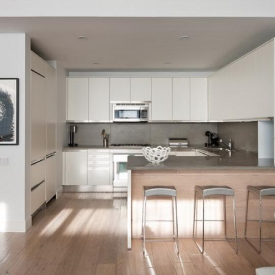 520 West 19th Street Kitchen – NYC Condos for Sale