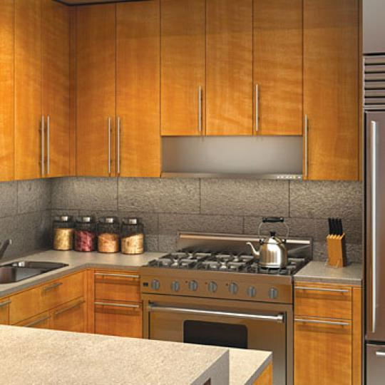 52 Thomas Street Kitchen – Manhattan New Condos