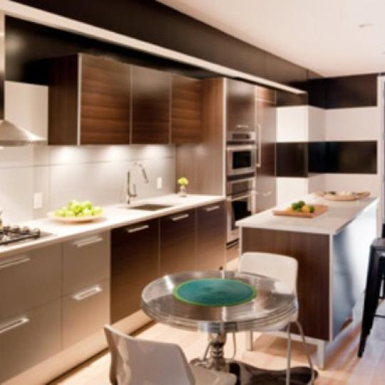 534 West 42nd Street New Construction Building Kitchen - NYC Condos