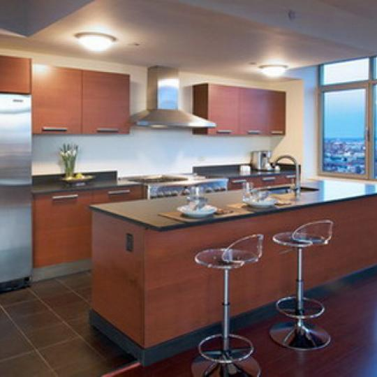1485 Fifth Avenue Kitchen – NYC Condos for Sale