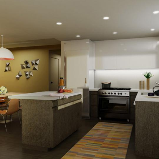 88 Morningside Avenue Kitchen – Manhattan New Condos