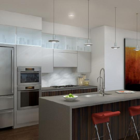 Adagio 60 Kitchen - 243 West 60th Street Condos for Sale