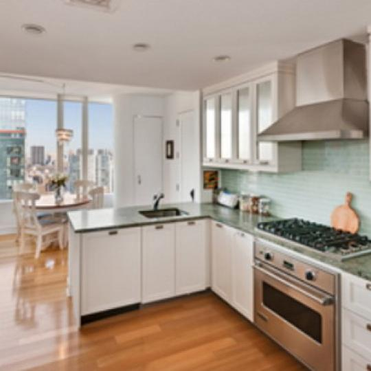 Ariel West Kitchen Area – Condominiums for Sale NYC