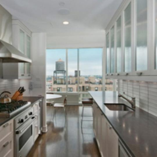 245 West 99th Street New Construction Condominium Kitchen Area