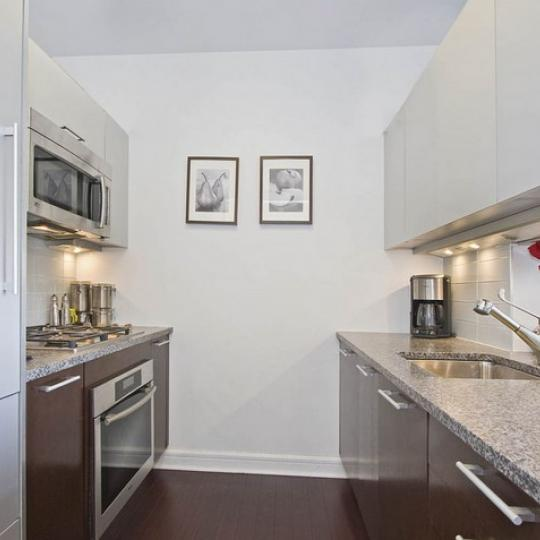 100 Riverside Boulevard NYC Condos – Kitchen at Avery