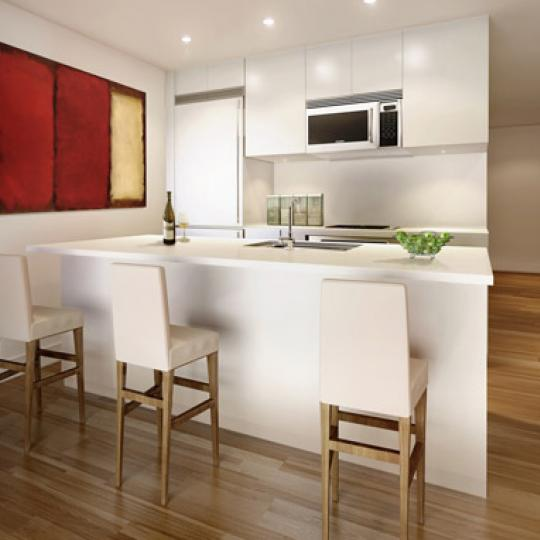 Be@William Kitchen - 90 William Street Condos for Sale