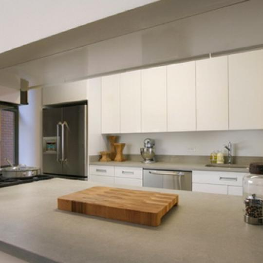 Deco Lofts New Construction Building Kitchen Area – NYC Condos