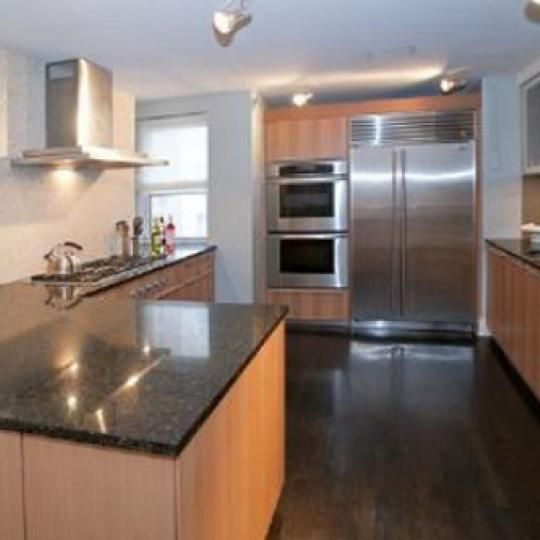 170 East 77th Street New Construction Condominium Kitchen Area