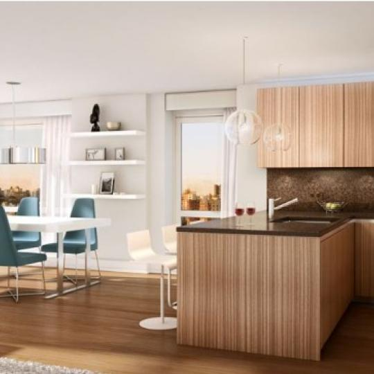 1280 Fifth Avenue Condominiums - Kitchen and Dining Area