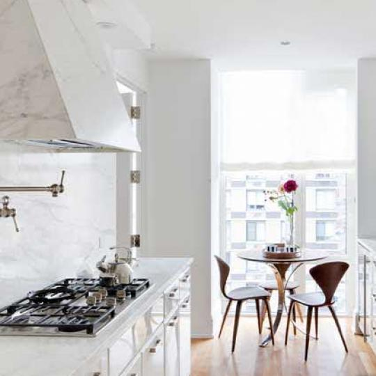 305 East 85th Street Manhattan – Kitchen at Georgica