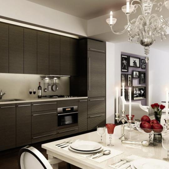 340 East 23rd Street Kitchen – NYC Condos for Sale