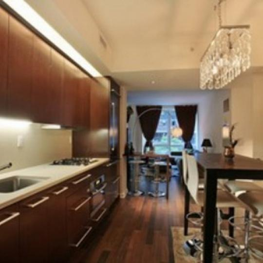 340 East 23rd Street Manhattan – Kitchen at Gramercy Starck