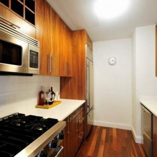 88 Greenwich Street Kitchen Area – NYC Condos for Sale