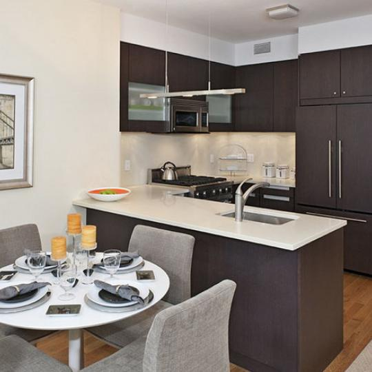 800 Tenth Avenue Kitchen Area – NYC Condos for Sale