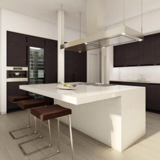 HL23 New Construction Building Kitchen Area – NYC Condos