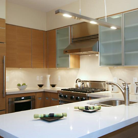 Isis New Construction Building Kitchen - NYC Condos