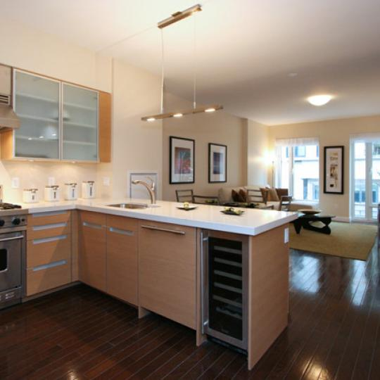 303 East 77th Street kitchen - Manhattan New Condos