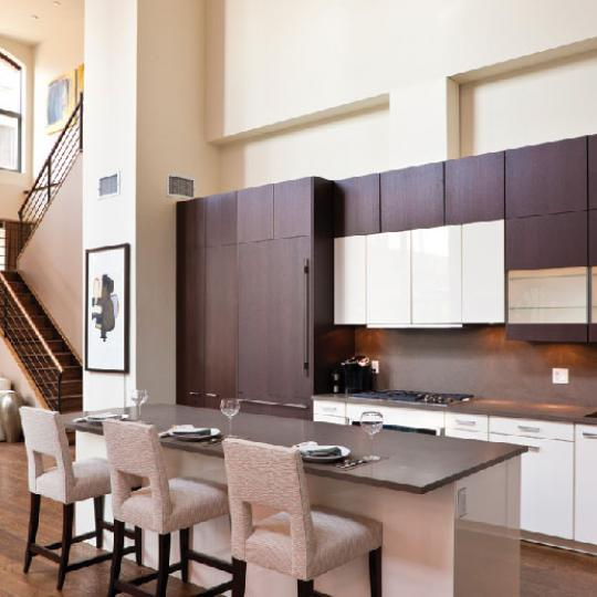 55 Vestry Street Kitchen - NYC Condos for Sale
