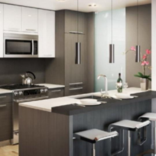 Pascal Condominiums – Kitchen Area