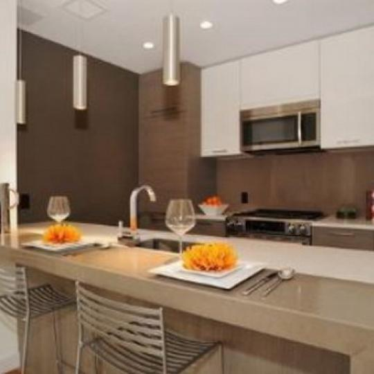 Pascal Kitchen Area – Condominiums for Sale NYC