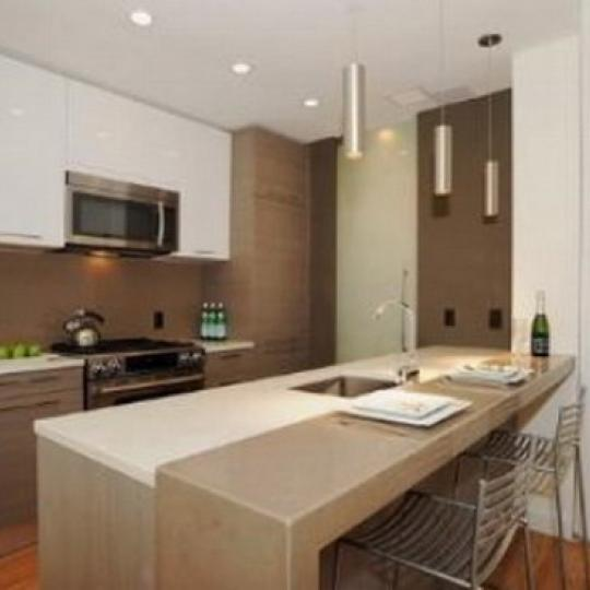 333 East 109th Street New Construction Condominium Kitchen Area