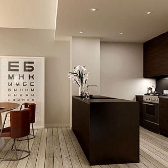 540 West 28th Street New Construction Condominium Kitchen