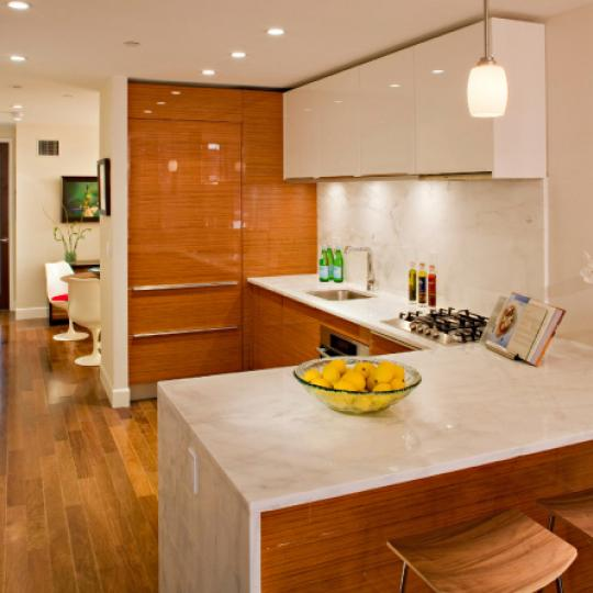 Prima Chelsea Kitchen Area - 130 West 20th Street Condos for Sale
