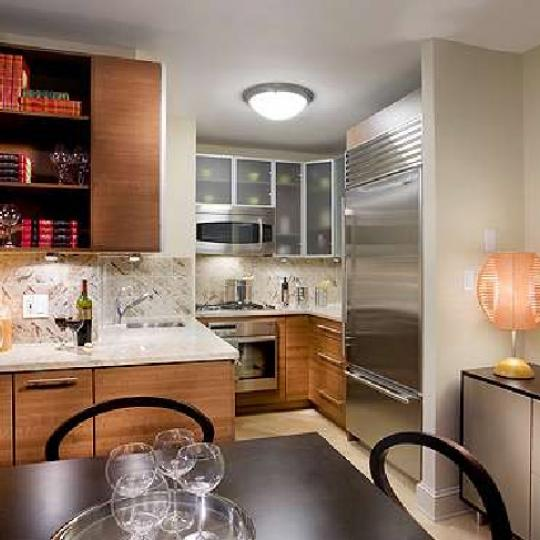 The Capri Kitchen Area - New Condos for Sale NYC
