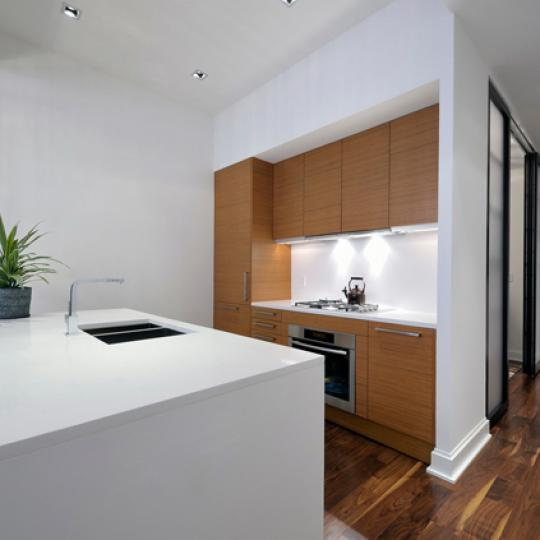140 West 22nd St New Construction Condominium Kitchen Area