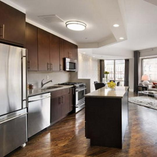 2110 Frederick Douglass Boulevard Kitchen - Manhattan New Condos