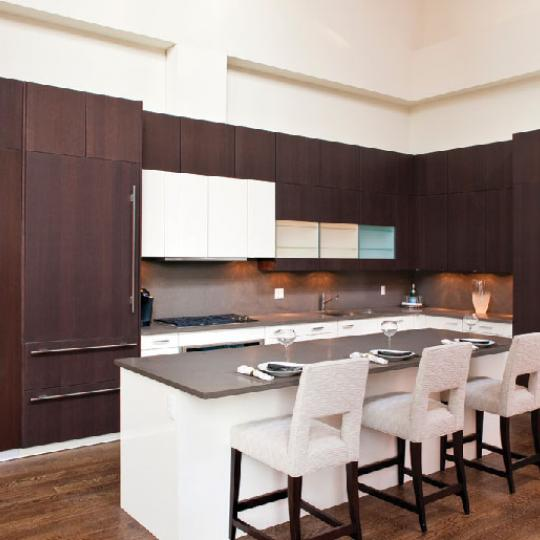 The Fairchild New Construction Building Kitchen - NYC Condos