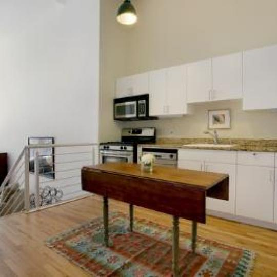 The Forward Building Kitchen - 175 East Broadway Condos for Sale