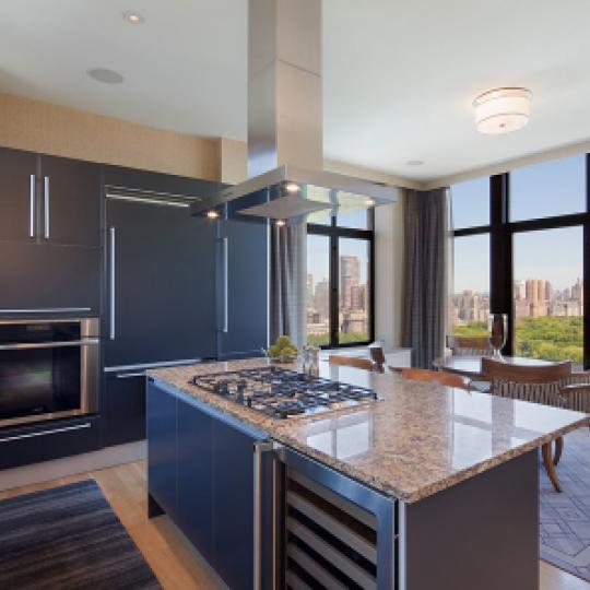 The Intercontinental Kitchen Area - New Condos for Sale NYC