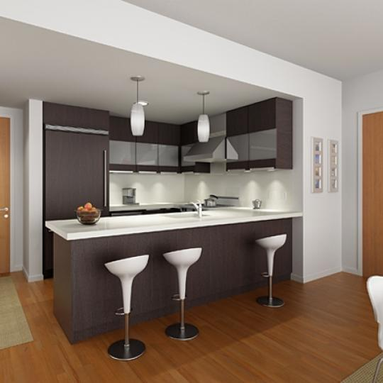 The Oculus - 50 West 15th Street - Kitchen - Manhattan Condos for Sale