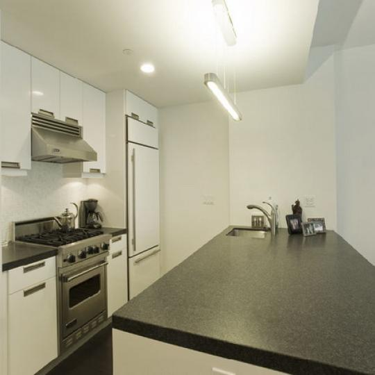 The Onyx Kitchen Area – New Condos for Sale NYC